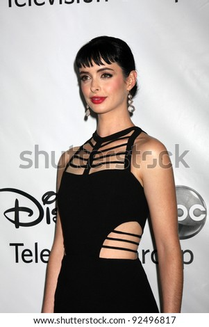LOS ANGELES - JAN 10:  Krysten Ritter arrives at the ABC TCA Party Winter 2012 at Langham Huntington Hotel on January 10, 2012 in Pasadena, CA