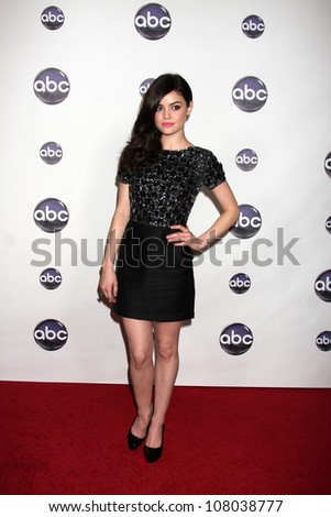 LOS ANGELES - JAN 10:  Lucy Hale arrives at the Disney ABC Television Group's TCA Winter 2011 Press Tour Party at Langham Huntington Hotel on January 10, 2011 in Pasadena, CA