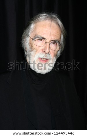 LOS ANGELES - JAN 12:  Michael Haneke arrives at the 2013 LA Film Critics Awards at InterContinental Hotel on January 12, 2013 in Century City, CA
