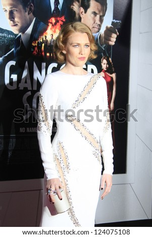 LOS ANGELES - JAN 7: Mireille Enos at Warner Bros. Pictures' 'Gangster Squad' premiere at Grauman's Chinese Theater on January 7, 2013 in Los Angeles, California