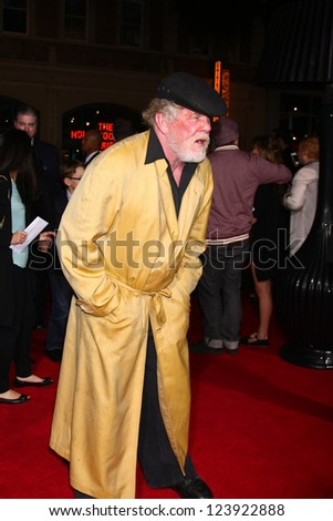LOS ANGELES - JAN 7:  Nick Nolte arrives at the 'Gangster Squad' Premiere at Graumans Chinese Theater on January 7, 2013 in Los Angeles, CA