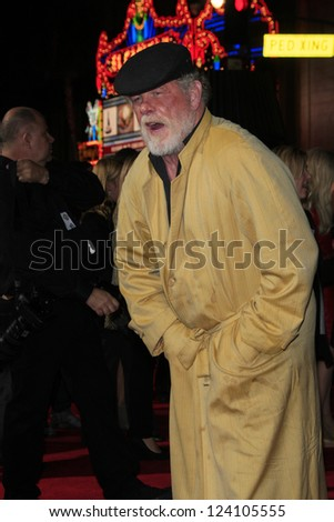LOS ANGELES - JAN 7: Nick Nolte at Warner Bros. Pictures' 'Gangster Squad' premiere at Grauman's Chinese Theater on January 7, 2013 in Los Angeles, California