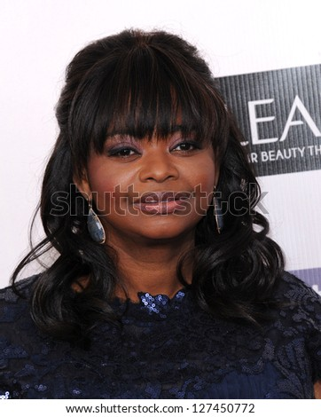 "LOS ANGELES - JAN 10:  Octavia Spencer arrives to the ""Critic's Choice Awards 2013  on January 10, 2013 in Santa Monica, CA"