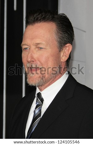 LOS ANGELES - JAN 7: Robert Patrick at Warner Bros. Pictures' 'Gangster Squad' premiere at Grauman's Chinese Theater on January 7, 2013 in Los Angeles, California