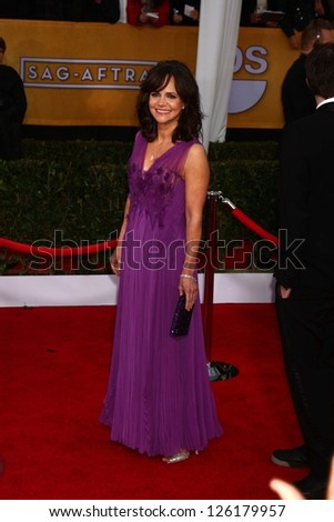 LOS ANGELES JAN 27 Sally Field arrives at the 2013 Screen Actor's Guild Awards at the Shrine Auditorium on January 27 2013 in Los Angeles CA