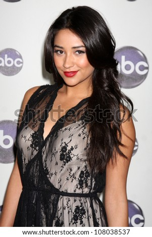 LOS ANGELES JAN 10 Shay Mitchell arrives at the Disney ABC Television Group's TCA Winter 2011 Press Tour Party at Langham Huntington Hotel on January 10 2011 in Pasadena CA