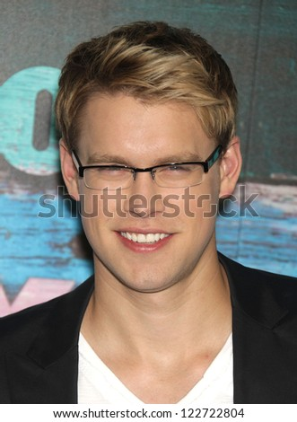 LOS ANGELES - JUL 23:  Chord Overstreet arriving to FOX All-Star Party 2012  on July 23, 2012 in West Hollywood, CA - stock photo