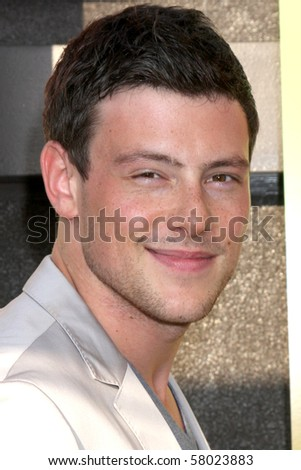 "LOS ANGELES - JUL 27:  Cory Monteith arrives at Fox's ""Glee"" Academy: An Evening of Music With the Cast of Glee at The Music Box & Henry Fonda Theater on July 27, 2010 in Los Angeles, CA ..."