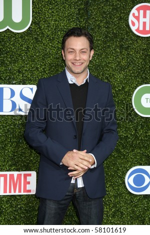 LOS ANGELES - JUL 28:  Jonathan Sadowski arrives at the 2010 CBS, The CW, Showtime Summer Press Tour Party  at The Tent Adjacent to Beverly Hilton Hotel on July 28, 2010 in Beverly Hills, CA ...