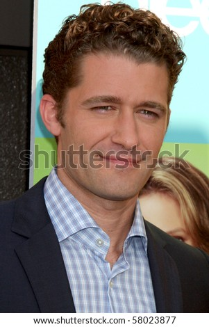 "LOS ANGELES - JUL 27:  Matthew Morrison arrives at Fox's ""Glee"" Academy: An Evening of Music With the Cast of Glee at The Music Box & Henry Fonda Theater on July 27, 2010 in Los Angeles, CA ..."
