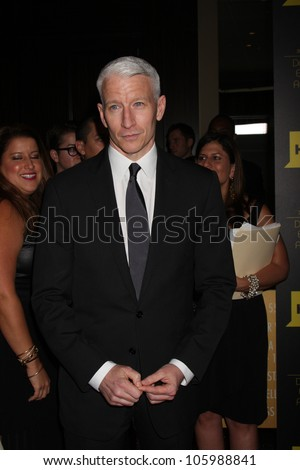 LOS ANGELES - JUN 23:  Anderson Cooper arrives at the 2012 Daytime Emmy Awards at Beverly Hilton Hotel on June 23, 2012 in Beverly Hills, CA