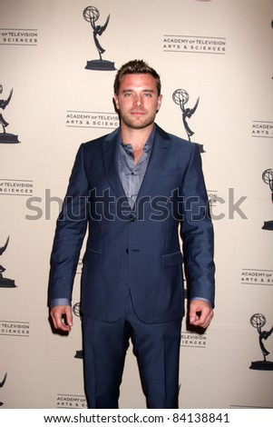 LOS ANGELES - JUN 16:  Billy Miller arriving at the Academy of Television Arts and Sciences Daytime Emmy Nominee Reception at SLS Hotel at Beverly Hills on June 16, 2011 in Beverly Hills, CA