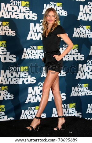 LOS ANGELES - JUN 5:  Cameron Diaz in the press room of the 2011 MTV Movie Awards at Gibson Ampitheatre on June 5, 2011 in Los Angeles, CA
