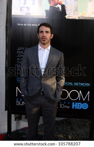 "LOS ANGELES - JUN 20: Chris Messina at HBO's ""The Newsroom"" LA Premiere at Cinerama Dome Theater on June 20, 2012 in Los Angeles, California"