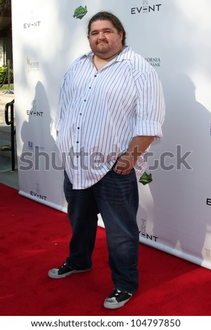 "LOS ANGELES - JUN 9:  Jorge Garcia arriving at ""The Event"" at Calabasas Tennis & Swim Center on June 9, 2012 in Calabasas, CA - stock photo"