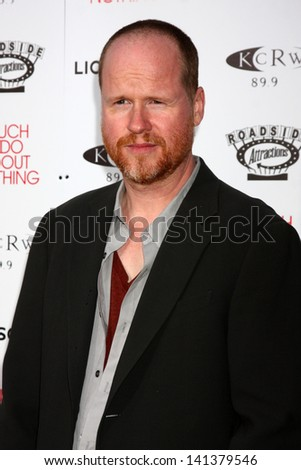 "LOS ANGELES - JUN 5:  Joss Whedon arrives at the ""Much Ado About Nothing"" LA Premiere at the Oscars Outdoors at Academy Hollywood on June 5, 2013 in Los Angeles, CA"