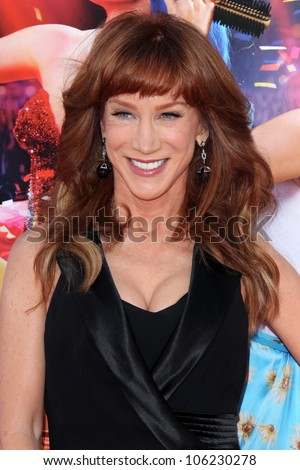 """LOS ANGELES - JUN 26:  Kathy Griffin arrives at the """"Katy Perry: Part Of Me"""" Premiere at Graumans Chinese Theater on June 26, 2012 in Los Angeles, CA"""