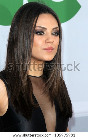 """LOS ANGELES - JUN 21:  Mila Kunis arrives at the """"Ted"""" Premiere at Village Theater on June 21, 2012 in Westwood, CA"""