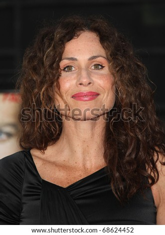 "LOS ANGELES - JUN 03:  Minnie Driver arrives to ""The A-Team"" Los Angeles Premiere on June 3, 2010 in Hollywood, CA"