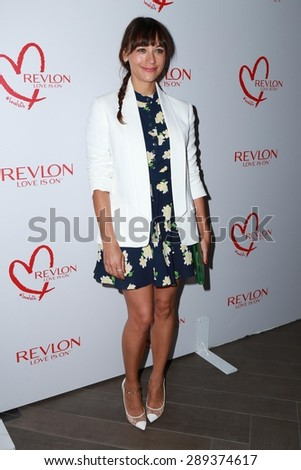 LOS ANGELES - JUN 3:  Rashida Jones at the Halle Berry And Revlon Celebrate Achievements In Cancer Research at the Four Seasons Hotel on June 3, 2015 in Los Angeles, CA