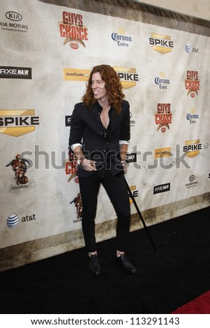 "LOS ANGELES - JUN 5: Shaun White at Spike TV's 4th Annual ""Guys Choice Awards"" at Sony Studios on June 5, 2010 in Los Angeles, California"