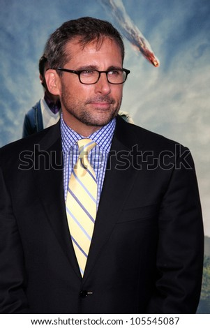 "LOS ANGELES - JUN 18:  Steve Carell arrives at the ""Seeking A Friend For The End Of The World"" LAFF Premiere at Regal Cinemas at LA Live on June 18, 2012 in Los Angeles, CA"