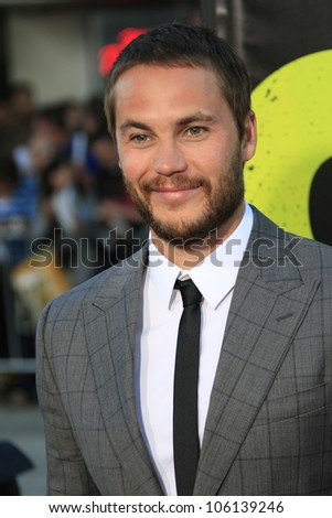 LOS ANGELES - JUN 25: Taylor Kitsch at the premiere of Universal Pictures' 'Savages' at Westwood Village on June 25, 2012 in Los Angeles, California