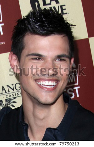 """LOS ANGELES - JUN 21:  Taylor Lautner arriving at """"A Better Life""""  World Premiere Gala Screening t the 2011 Los Angeles Film Festival at Regal Cinemas L.A. LIVE on June 21, 2011 in Los Angeles, CA"""