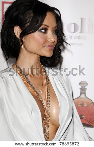 stock photo los angeles jun tila tequila arriving at a ceremony where ice t and coco renew their wedding 78695872 Tila Tequila Swimsuit Big