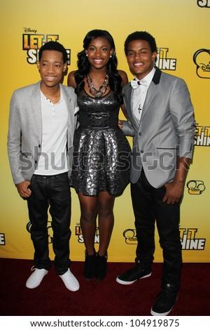 Los Angeles - Jun 5: Tyler James Williams, Coco Jones ...