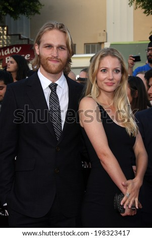 "LOS ANGELES - JUN 10:  Wyatt Russell at the ""22 Jump Street"" Premiere at Village Theater on June 10, 2014 in Westwood, CA"