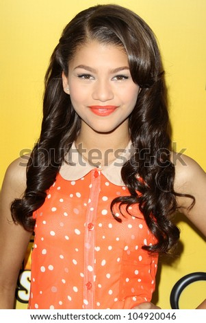 "LOS ANGELES - JUN 5:  Zendaya Coleman arriving at the Premiere Of Disney Channel's .""Let It Shine"" at DGA Theater on June 5, 2012 in Los Angeles, CA"