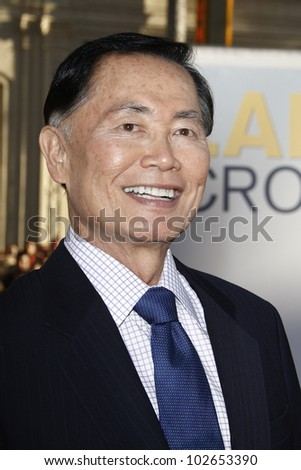 LOS ANGELES - JUNE 27: George Takei arrives at the Premiere of Universal Pictures' 'Larry Crowne' at Grauman's Chinese Theatre on June 27, 2011 in Los Angeles, California