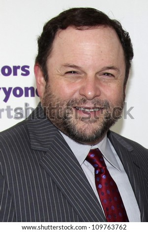LOS ANGELES - JUNE 10: Jason Alexander at The Actors Fund 16th Annual Tony Awards Party at The Skirball Center in Los Angeles, CA on June 10, 2012.