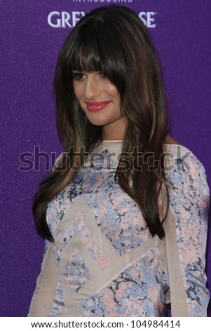 LOS ANGELES - JUNE 9: Lea Michele at the 11th Annual Chrysalis Butterfly Ball held at a private residence on June 9, 2012 in Los Angeles, California