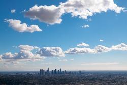 Los Angeles Landscape Cityview Skyline