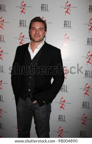 LOS ANGELES - MAR 16:  Bill Miller arrives at the Young & Restless 39th Anniversary Party hosted by the Bell Family at the Palihouse on March 16, 2012 in West Hollywood, CA - stock photo