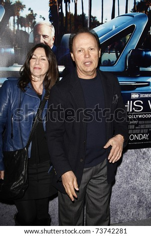 LOS ANGELES - MAR 22:  Billy Crystal, wife arrive at the Los Angeles HBO Premiere of 'His Way' at Paramount Studios in Los Angeles, California on March 22, 2011.