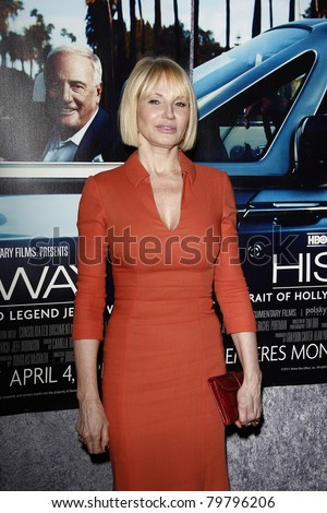 LOS ANGELES - MAR 22:  Ellen Barkin arriving at the Los Angeles HBO Premiere of 'His Way' at Paramount Studios in Los Angeles, California on March 22, 2011.