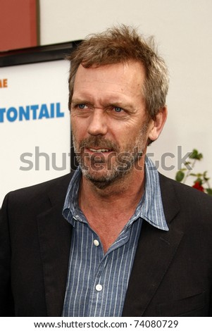 "LOS ANGELES - MAR 27:  Hugh Laurie arriving at the ""HOP"" World Premiere at Universal Studios Hollywood on March 27, 2011 in Los Angeles, CA"