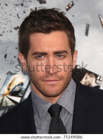 """LOS ANGELES - MAR 28:  Jake Gyllenhaal arrives to the """"Source Code"""" Los Angeles Premiere  on March 28, 2011 in Beverly Hills, CA"""