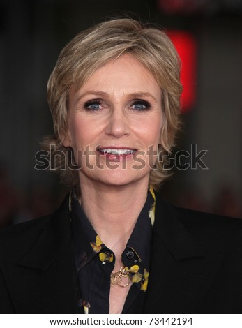 "LOS ANGELES - MAR 14:  Jane Lynch arrives at the ""Paul'"" premiere on March 14, 2011 in Hollywood, CA"