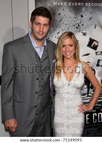 """LOS ANGELES - MAR 28:  Jay Cutler & Kristin Cavallari arrives to the """"Source Code"""" Los Angeles Premiere  on March 28, 2011 in Beverly Hills, CA"""