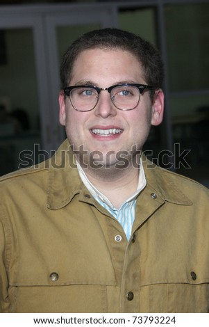 """LOS ANGELES - MAR 22:  Jonah Hill arrives at the """"Ceremony"""" Premiere at ArcLight Theater on March 22, 2011 in Los Angeles, CA"""