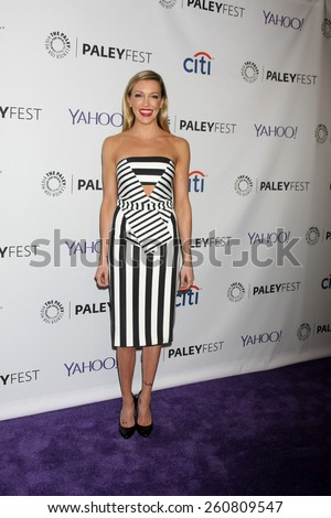 LOS ANGELES - MAR 14:  Katie Cassidy at the PaleyFEST LA 2015 - \