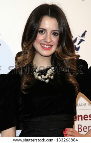 LOS ANGELES - MAR 23:  Laura Marano arrives at the 2013 Genesis Awards Benefit Gala at the Beverly Hilton Hotel on March 23, 2013 in Beverly Hills, CA