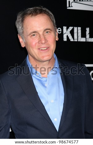 "LOS ANGELES - MAR 26:  Mark Moses arrives at  the AMC's ""The Killing"" Season 2 Premiere at the ArcLight Theaters on March 26, 2012 in Los Angeles, CA - stock photo"