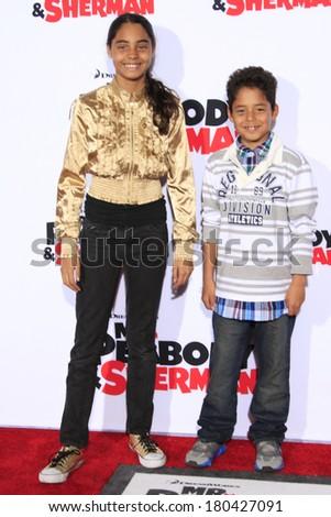 Los Angeles - Mar 5: Shar Jackson'S Children Kaleb And ...
