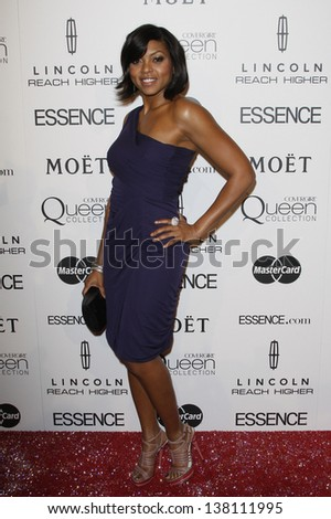 LOS ANGELES - MAR 4: Taraji P Henson at the 3rd annual Essence Black Women in Hollywood Luncheon at the Beverly Hills Hotel in Beverly Hills, California on March 4, 2010