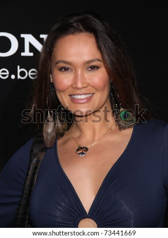 "LOS ANGELES - MAR 8:  Tia Carrere arrives at the ""Battle: Los Angeles"" Los Angeles Premiere on March 8, 2011 in Westwood, CA"